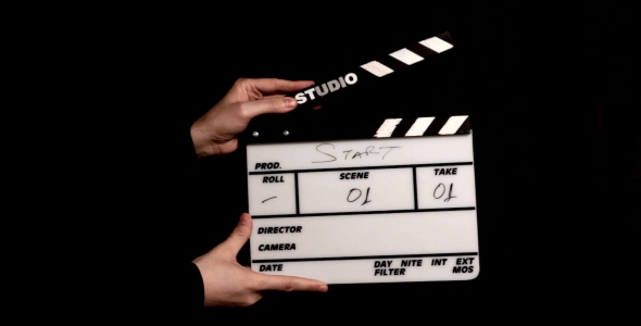 CLAPPERBOARD 590