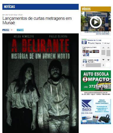 Gazeta de Muriaé Lançamento