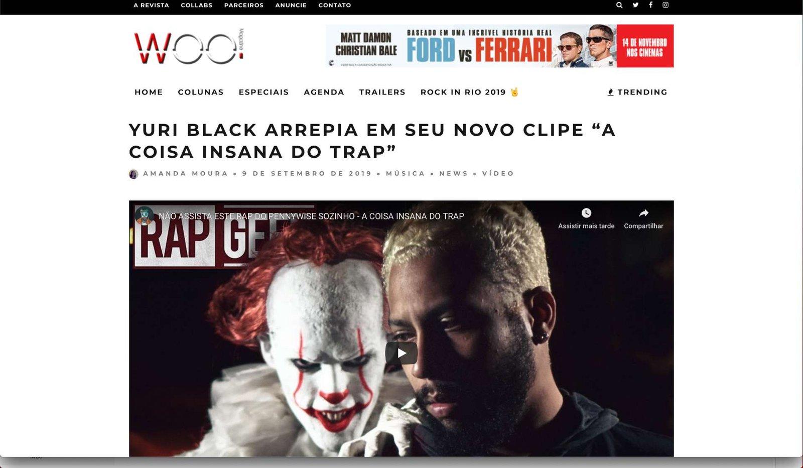 Yuri Black - A coisa Insana do Trap - Parte 1